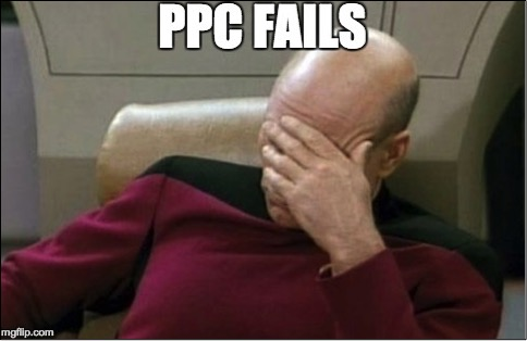 Image of PPC fails