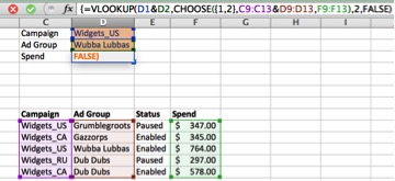 Image of excel